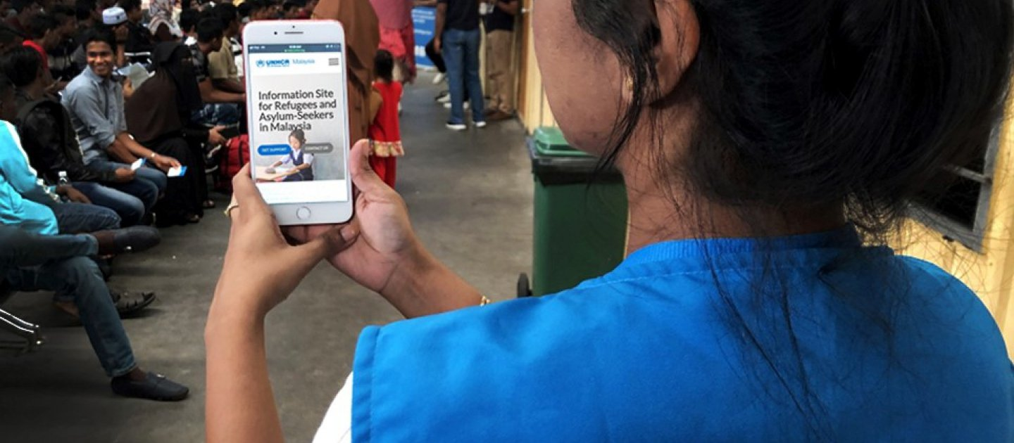 Making Information Accessible To Refugees In A Time Of Crisis
