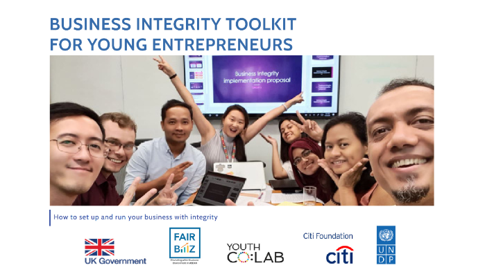 Business Integrity Toolkit for Young Entrepreneurs