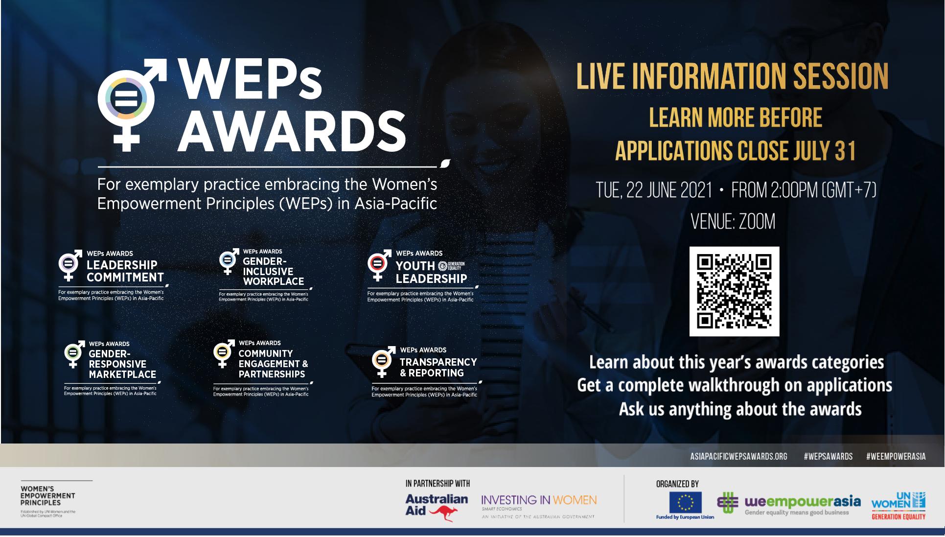 The Women's Empowerment Principles Awards 2021