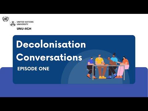 Decolonisation Conversations | Episode 1: Reflexivity through Conversations